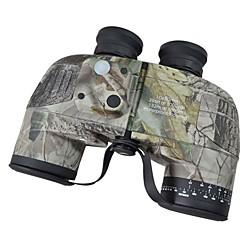 Boshile® 10X50 Waterproof  Navy Binoculars Telescope with Rangefinder and Compass
