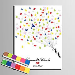 דואר home® הדפסי בד ציור טביעת אצבע אישית -flight ה- SIM (כולל 12 צבעי דיו)