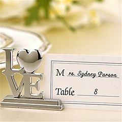Zinc Alloy Place Cards / Place Card Holders / Table Number Cards - 4 pcs /set Piece/Set
