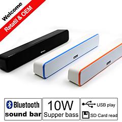 besteye® sem fio Bluetooth estéreo alto-falantes barra de som portátil potência 2.0 de alta fidelidade para iPhone / samsung