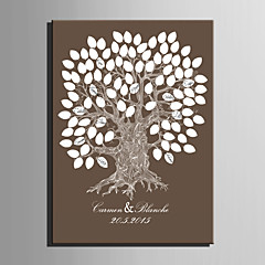 E-HOME® Personalized Signature Canvas Frame-Tree