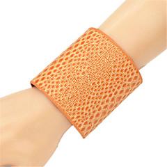 Fashion Alloy Cuff Bracelet (More Colors)