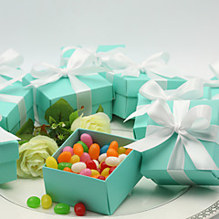 Geschenkboxen ( Himmelblau , Kartonpapier ) - Nicht personalisiert - Hochzeit/Jubliläum/Quinceañera & Der 16te Geburtstag/Geburtstag