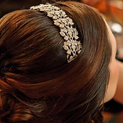 נשים / נערת פרחים סגסוגת כיסוי ראש-חתונה / אירוע מיוחד מסרקי שיער חלק 1