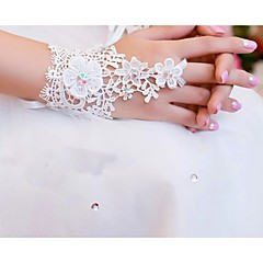 Wrist Length Fingerless Glove Lace Bridal Gloves Party/ Evening Gloves Spring Summer Fall lace