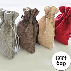 Bolsas de Ofertas ( Chocolate/Champagne/Vermelho/Cinza , Juta não-personalizado