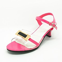 Girls' Shoes Wedding/Party & Evening Heels/Slingback Satin Pumps/Heels Pink/Silver/Gold