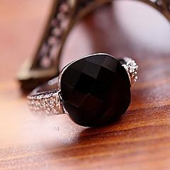 Anéis Meio Dedo Cristal imitação de diamante Liga Moda Cor Ecrã Jóias Festa 1 Conjunto