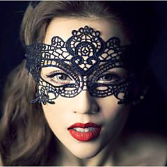 Γυναικείο Δαντέλα Headpiece-Γάμος Ειδική Περίσταση Καθημερινά Υπαίθριο Διακοσμητικά Κεφαλής Βέλα κλουβιού πουλιών Μάσκες 1 Τεμάχιο