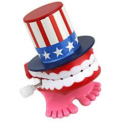 relógio de brinquedo criativo dental
