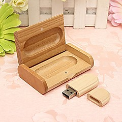 mooie houten model usb 2.0 geheugen flash drive pen driveu disk thumb drive 16gb