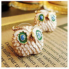 Women's Owl Alloy Stud Earrings