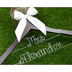 כלה / שושבינה / זוג מתנות-1 חתיכה / סט מתנה יצירתית חתונה / ברכות / תודה סגסוגת אלומיניום / עץ מותאם אישית מתנה יצירתית לבן / קפהקופסאת