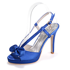 Women's Shoes Silk Stiletto Heel Open Toe Sandals Wedding/Party & Evening  Wedding Shoes More Colors available