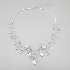 Collana Per donna Anniversario/Matrimonio/Fidanzamento/Compleanno/Regalo Cristalli/Perle false Lega/Perle false