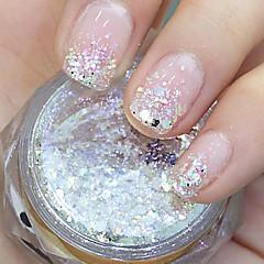 Hexagonal Glitter Tablets Nail Art Decorations