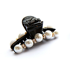 Women's Imitation Pearl/Plastic Headpiece - Casual/Outdoor Hair Claws 1 Piece