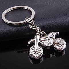 Rostfritt Stål Nyckelringsfavörer-1 del/set Nyckelband Ej personlig Silver