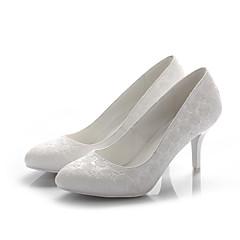 Zapatos de mujer Cuero Tacón Stiletto Tacones/Puntiagudos Pumps/Tacones Boda/Vestido Negro/Blanco