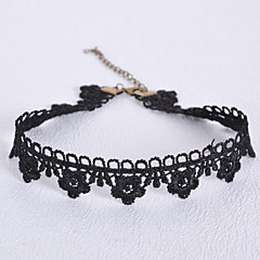 Women's Fashion Hollow Out Tulle Necklace Party/Causal