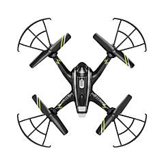 רחפן FQ777 FQ777-957C 4CH 6 ציר 5.8G עם מצלמת720P HD RC Quadcopterחזרה על ידי כפתור אחד / אַל כֶּשֶׁל / מצב ללא ראש / טיסת פליפ (התהפכות)