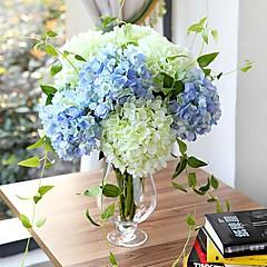 """27,6 """"hochwertigem Kunst Hortensien Seide Blumendekor (weitere Farben)"""