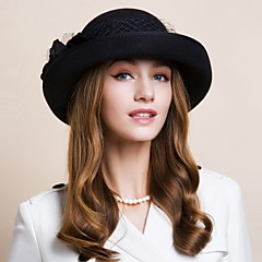 Women's Wool Headpiece - Wedding / Special Occasion / Casual / Office & Career / Outdoor Hats 1 Piece