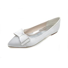 Women's Wedding Shoes Pointed Toe Flats Wedding/Party & Evening Black/Blue/Pink/Purple/Ivory/White/Silver