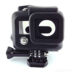 Accessories For GoPro,Smooth Frame Protective Case Convenient, For-Action Camera,Gopro Hero 3 Silicone