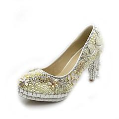 Women's Shoes Stiletto Heel Heels Pumps/Heels Wedding/Office & Career/Party & Evening/Dress White