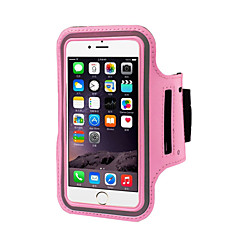 vanntett sports arm band mobiltelefon holder pounch bandet belte tilfelle for iphone 6s 6 pluss