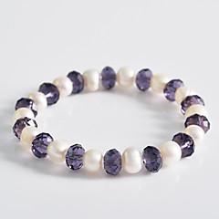 Korean Fashion Pearl Crystal Bracelet Gift Idea