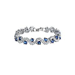 Bracelet Chaîne Alliage Zircon cubique Femme