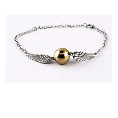 Unisex Harry Wings Golden Snitch Bludger Bracelet
