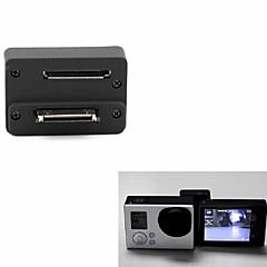 מסך תצוגה LCD נרתיק הגנה מכסה עדשות מתאם מסך LCD כפתור מתלה נוח ל Gopro 5 Gopro 4 Gopro 4 Silver Gopro 4 Black Gopro 3+