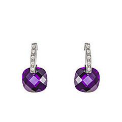 Drop Earrings Women's Alloy Earring Cubic Zirconia