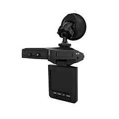 Bil DVR, bil sort kasse med 2,5 tommer skærm, førte lys, bevægelsesdetektering