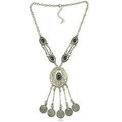 New Vintage Bohemia Style Coin Tassel Necklace Vintage Jewelry Necklace