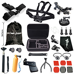 Gopro AccessoriesChest Harness / Front Mounting / Protective Case / Tripod / Gopro Case/Bags / Screw / Buoy / Suction Cup / Straps / Clip