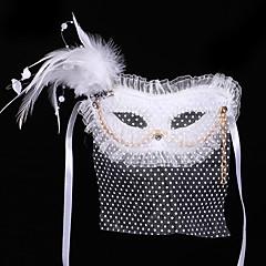 Masque Bal Masqué Ange et Diable Fête / Célébration Déguisement d'Halloween Couleur Pleine Masque Halloween Carnaval UnisexeCouleur