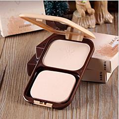 New LIDEAL® Pressed Powder Cake 2 In 1 Makeup Base/Dry Loose Powder 1Pc