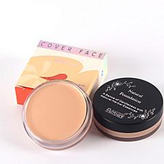 4 Základ mokrý Khaki Vlhkost / Ochrana proti slunci / Bělící / Kontrola mastnosti / Korektor / Výživa Face Natural MAYCHEER