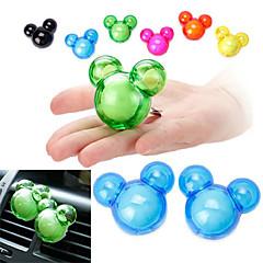 ziqiao 1 pár szép ízét autós légfrissítő diffúzor kilépő mágikus kellékek parfüm
