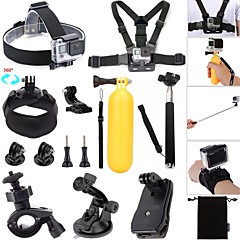 Accessories For GoPro,Monopod Buoy Suction Cup Straps Clip Hand Grips/Finger Grooves Balaclavas Mount/HolderWaterproof Convenient