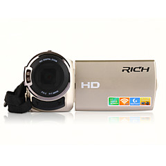 """rich® FW-560s HD 1080p pixels 16 mega pixels ζουμ 16x 3 """"οθόνη LCD Full HD βιντεοκάμερα ψηφιακή φωτογραφική μηχανή"""
