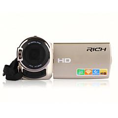 "rich® FW-560s HD 1080p pixelů 16 megapixelů 16x zoom 3 ""LCD displej Full HD digitální kamera videokamera"
