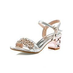 Women's Spring / Summer / Fall Heels Customized Materials Wedding / Office & Career / Dress / Party & Evening Chunky HeelSparkling