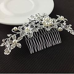 Mulheres Liga Capacete-Casamento Ocasião Especial Pentes de Cabelo Acessórios para Cabelos 1 Peça