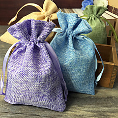 6 Piece/Set Favor Holder-Creative Jute Favor Bags Non-personalised