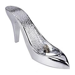 Chrome Fairy Tale Cinderella Slipper Bottle Opener Barware, Wedding Favor, Party Gift